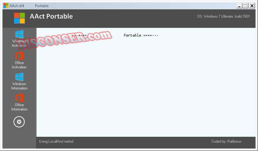 AAct 3 9 5 Portable Activator Terbaru ~ DISCONSER
