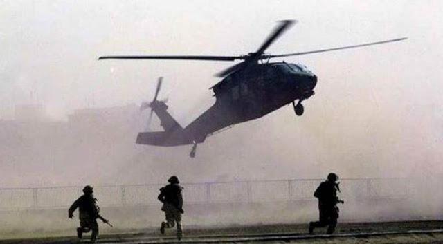 """تحالف واشنطن يجلي بالمروحيات متزعمين اثنين من""""داعش""""على الحدود السورية العراقية"""