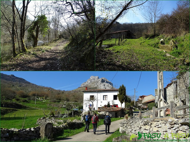 Ruta a la Pica de Peñamellera: Atravesando barrio bajo de Bores