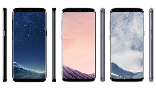 Here's the Samsung Galaxy S8 and S8 Plus in Different Colors