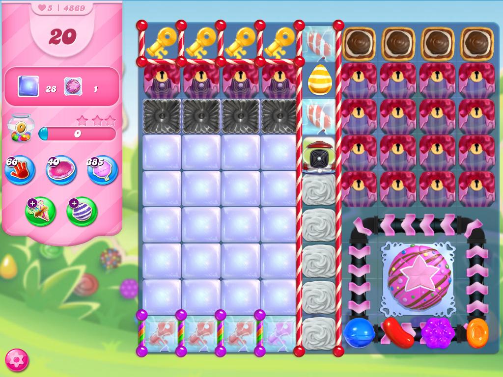 Candy Crush Saga level 4869