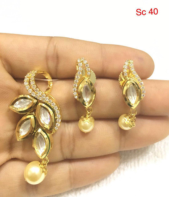 Pick Any Locket with Earrings 1100 Rupees