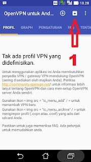 Cara menjalankan openvpn for android langkah 1