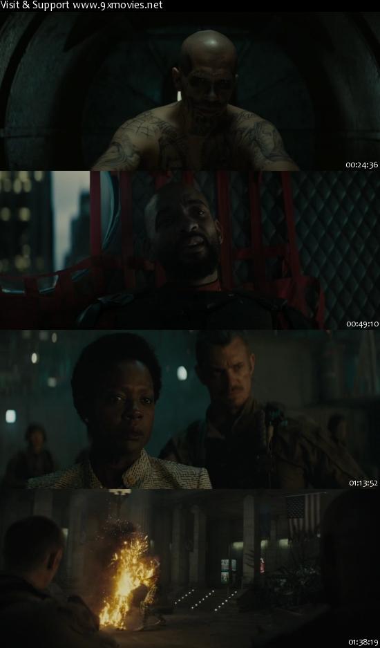 Suicide Squad 2016 English 720p WEB-DL