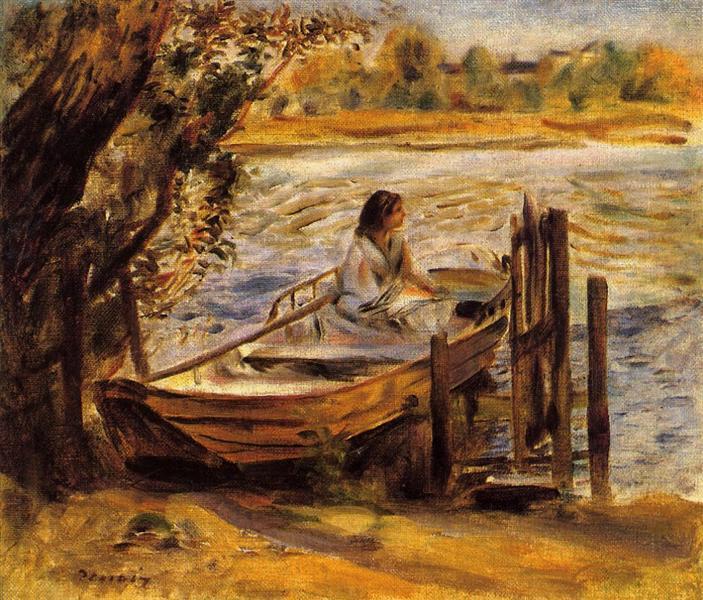 Pierre-Auguste Renoir, Liebe, Sommer, das Leben, Zukunft, Träume, Einsamkeit, Glück, Freude, Kraft, hoffnungsvoll, mutig in die zukunft blicken, die liebe finden, das glück in sich tragen, herz, schwere des winters, kälte, gefühle, paintings, malerei, bild, poetische Art