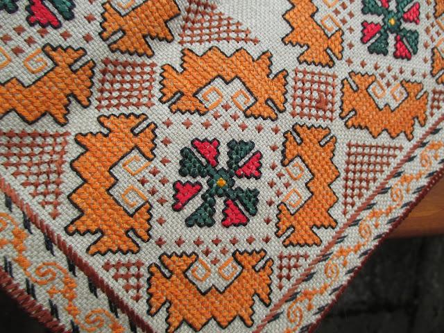 болгарская народная вышивка