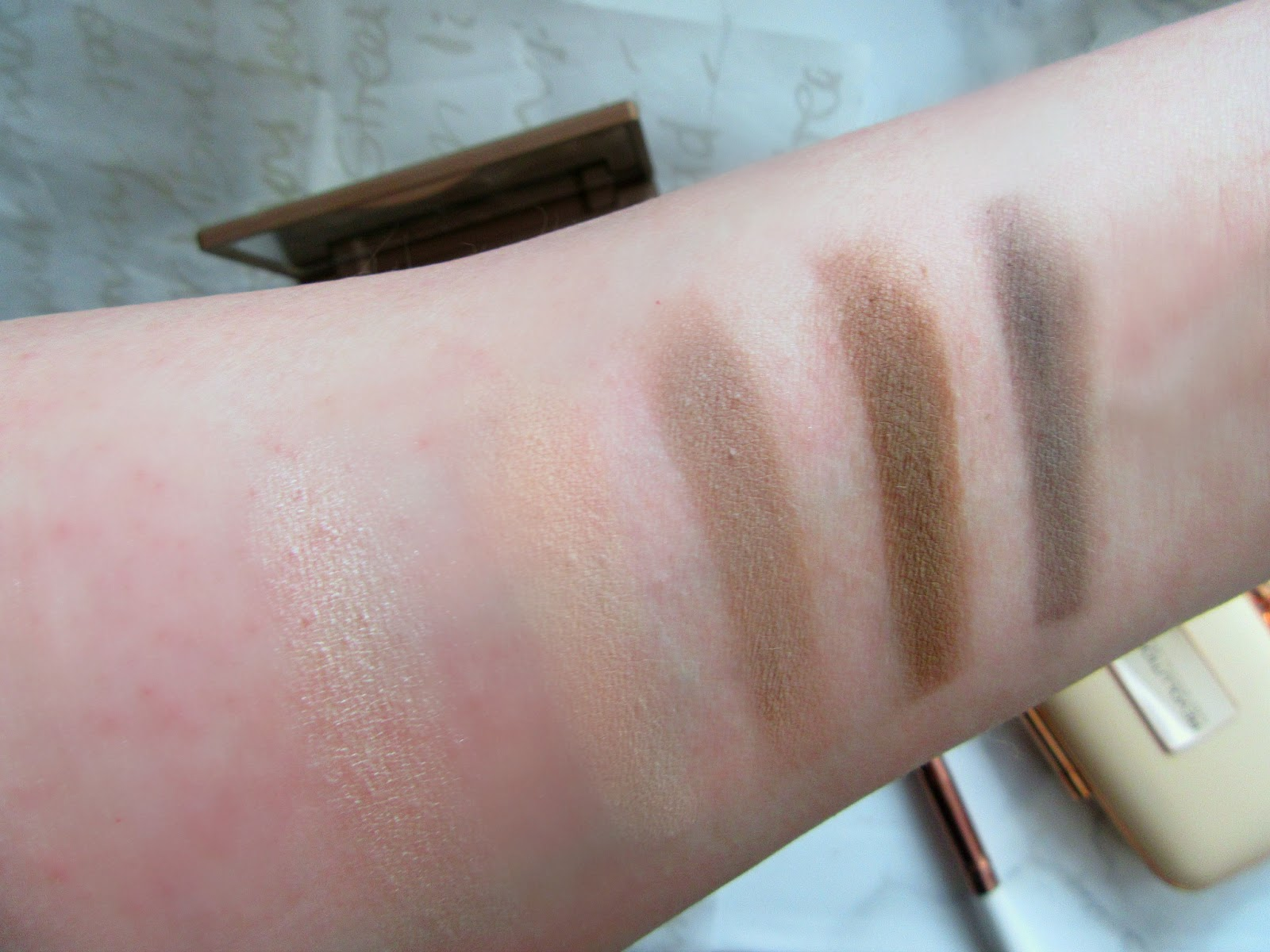Makeup Revolution Renaissance Day Swatches
