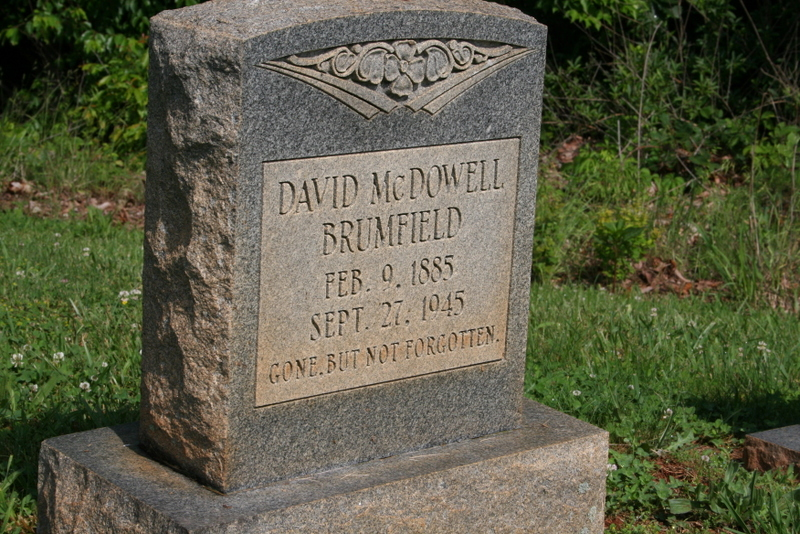 Genealogy Our Astounding Past More Brumfield Grave Markers