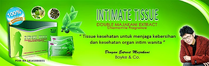 Intimate Tissue with Camomile | Agen Intimate Tissue Bali