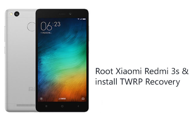 Cara Root Redmi 3S & Install TWRP Recovery