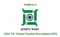 JSSC PG Trained Teacher Recruitment