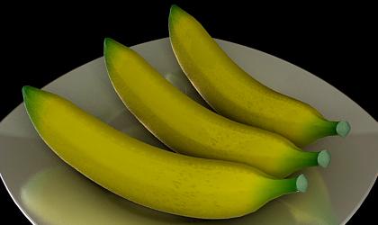 banana 3d model free