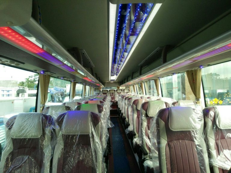 Nội thất xe khách 29 chỗ bầu hơi tại Hải Phòng