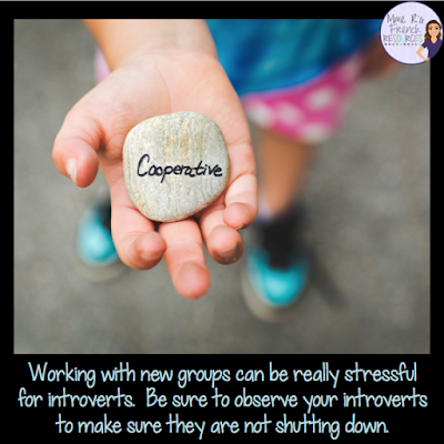 Do you love cooperative learning in your classroom?  Do you wish all students wanted to participate in group work?  Read this blog post for ideas on how to reach your introverted students.