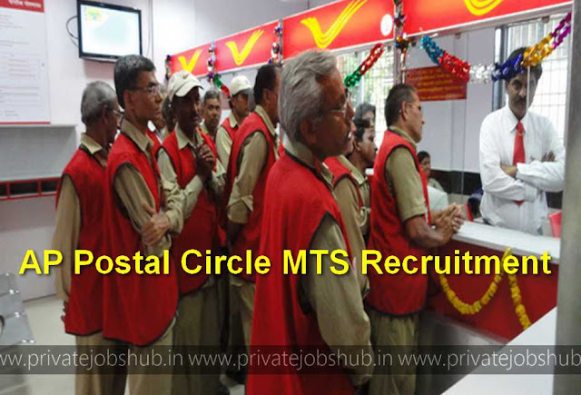 AP Postal Circle MTS Recruitment