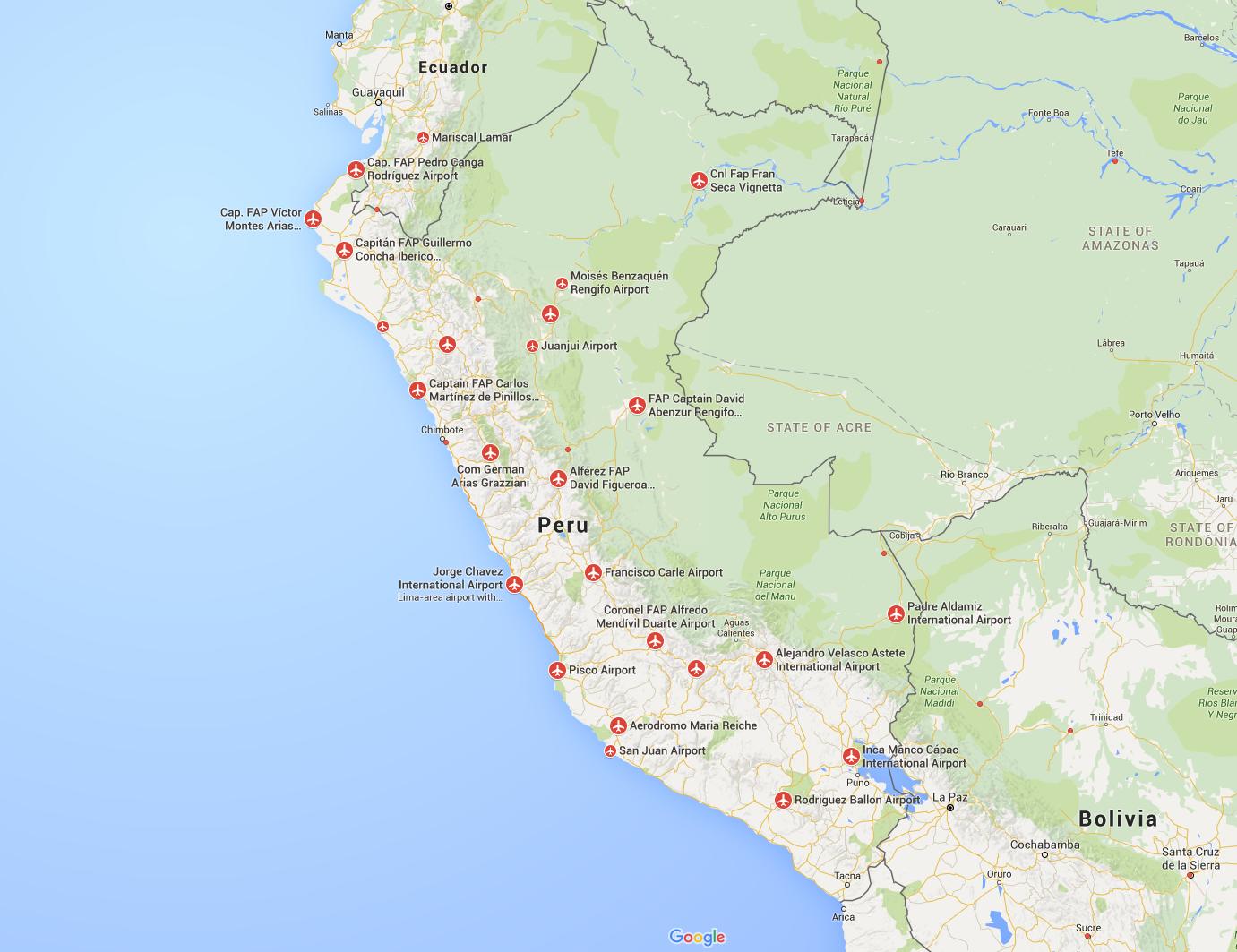 Airports Peru