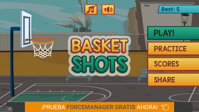 تحميل كود سورس لعبة Basket Shots