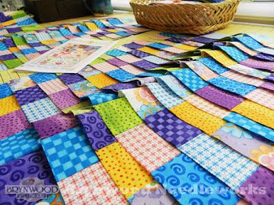 Charmant Brynwood Needleworks   Birthday Runner Fabric Strips