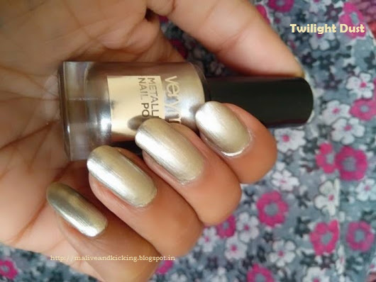 Wow Factor for Your Nails - Oriflame Very Me Metallic Nail Polish