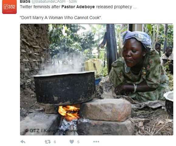 Don't marry a girl who cannot last 1hr in prayer - Nigerians react to Pastor Adeboye advice