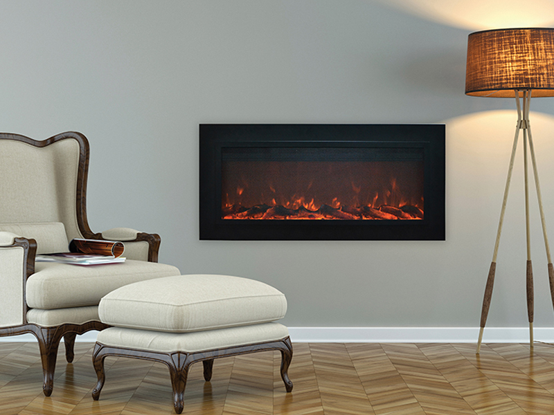Touchstone Introduces the New Sideline Steel Electric Fireplace