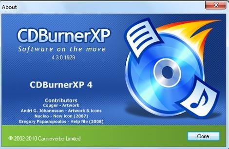 تحميل برنامج نسخ وحرق الاسطوانات CDBurnerXP اخر اصدار