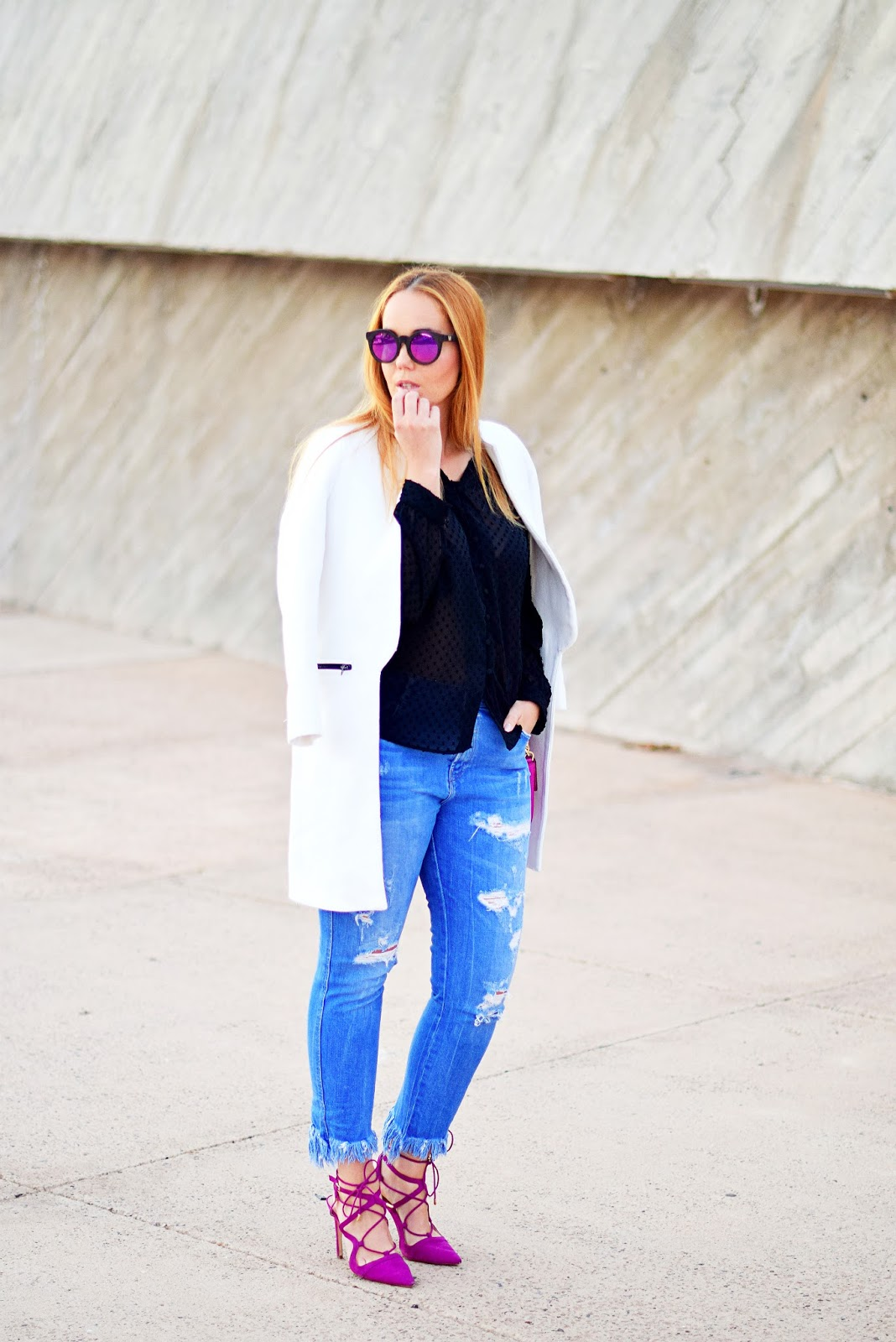 nery hdez, primark, woodzee, buganvilla, ripped jeans , wooden sunglasses