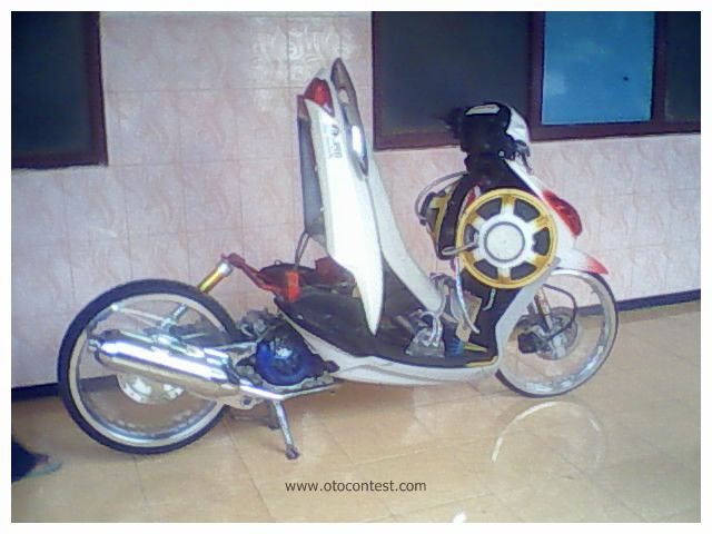 Motorcycle Modification: Yamaha Mio Modification