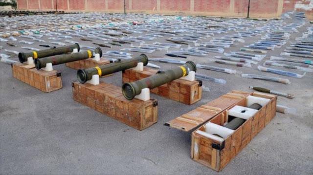 Siria halla armas estadounidenses de terroristas en el sur