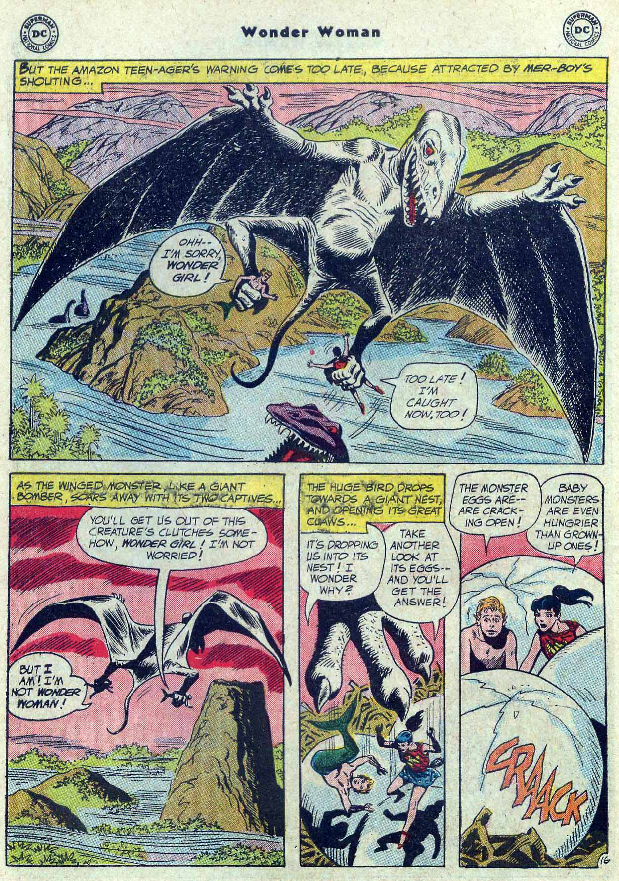 Read online Wonder Woman (1942) comic -  Issue #121 - 22