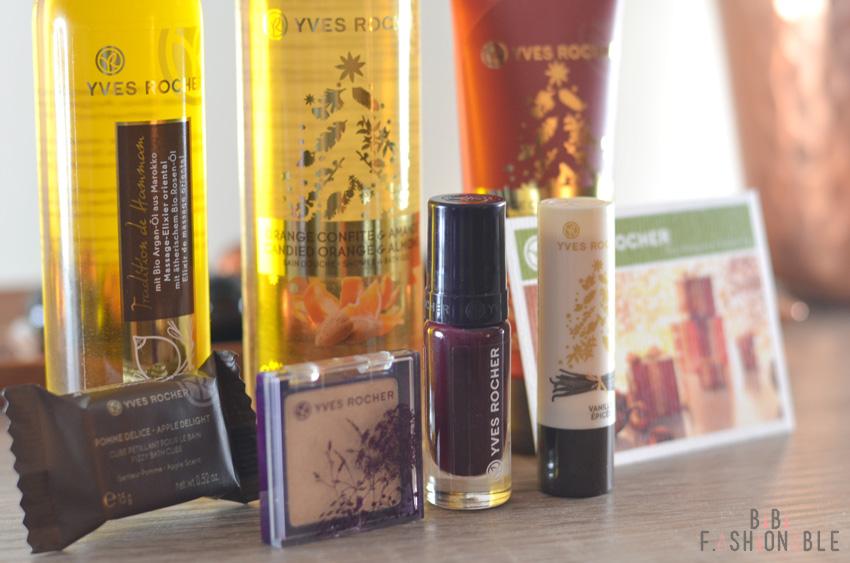 Yves Rocher Blogger Wichteln 2015 Produkte nah