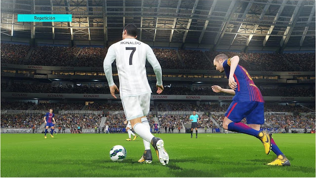 PES 2018 ReShade More Vivid and Realistic Colour V1.9.1