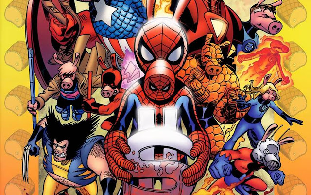 siapa Spider-Ham asal usul spiderham marvel