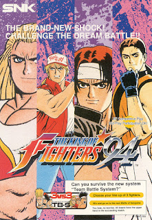 The King of Fighters 94+arcade+game+portable+retro+fighter+art+flyer