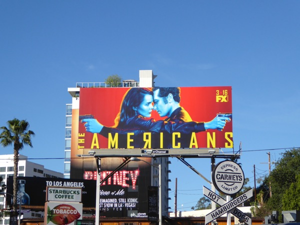 Americans season 4 FX billboard
