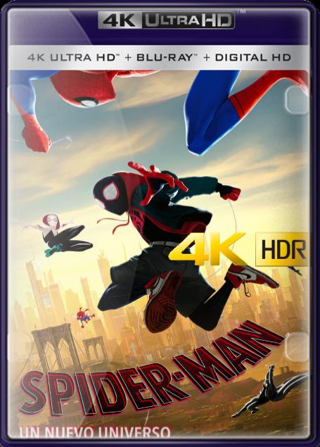 Spider-Man: Un Nuevo Universo (2018) 4K UHD HDR LATINO/INGLES
