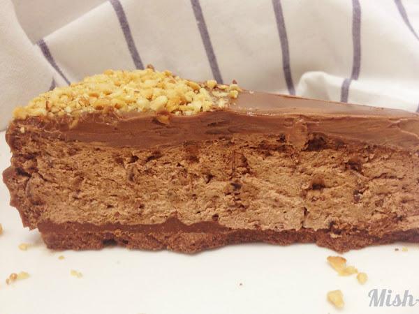 Тройно шоколадова торта