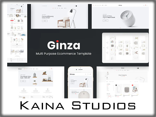 Ginza - Furniture Theme for WordPress