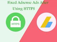 Cách Fix Lỗi Không Hiển Thị Google Adsense Khi Chuyển Sang Https.