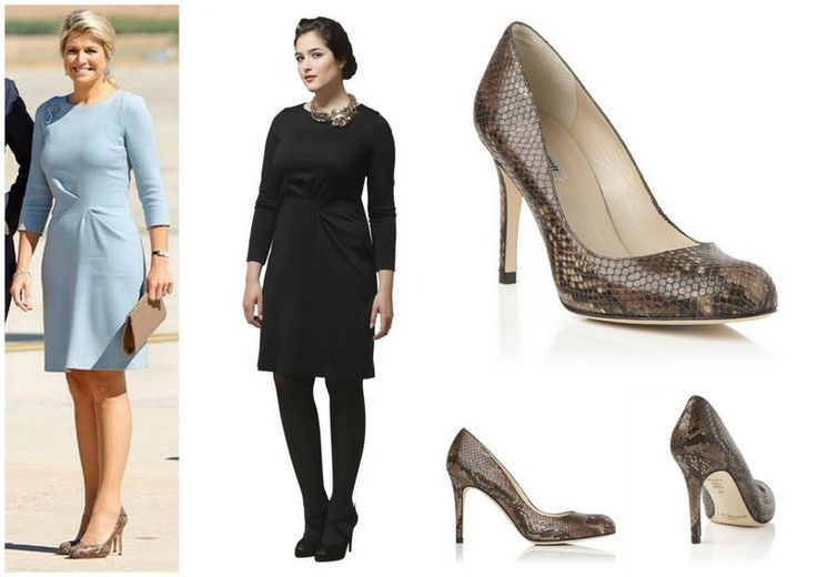 Queen Maxima - Natan Dress - LK  Bennett Shoes