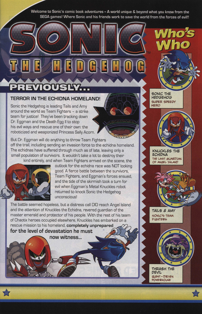 Read online Sonic The Hedgehog comic -  Issue #244 - 3
