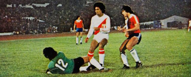 Chile y Perú en Copa América 1979, 24 de octubre