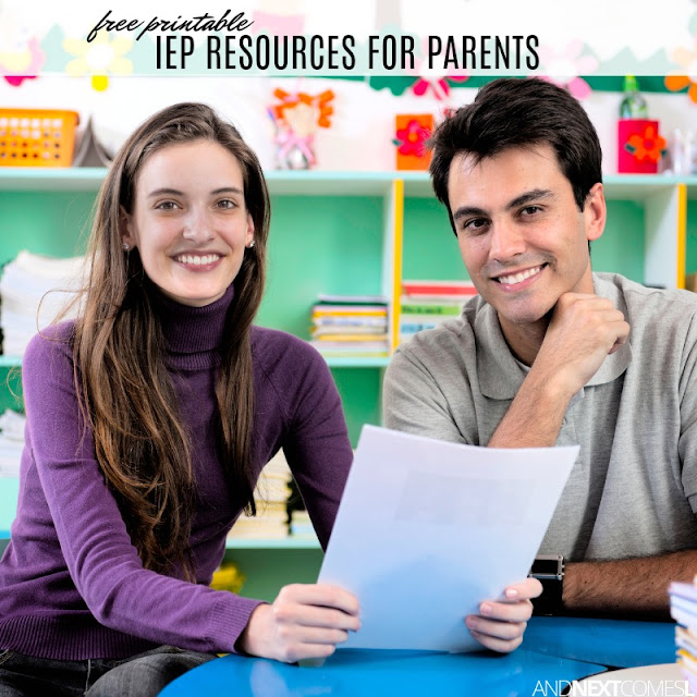 Free IEP resources for parents
