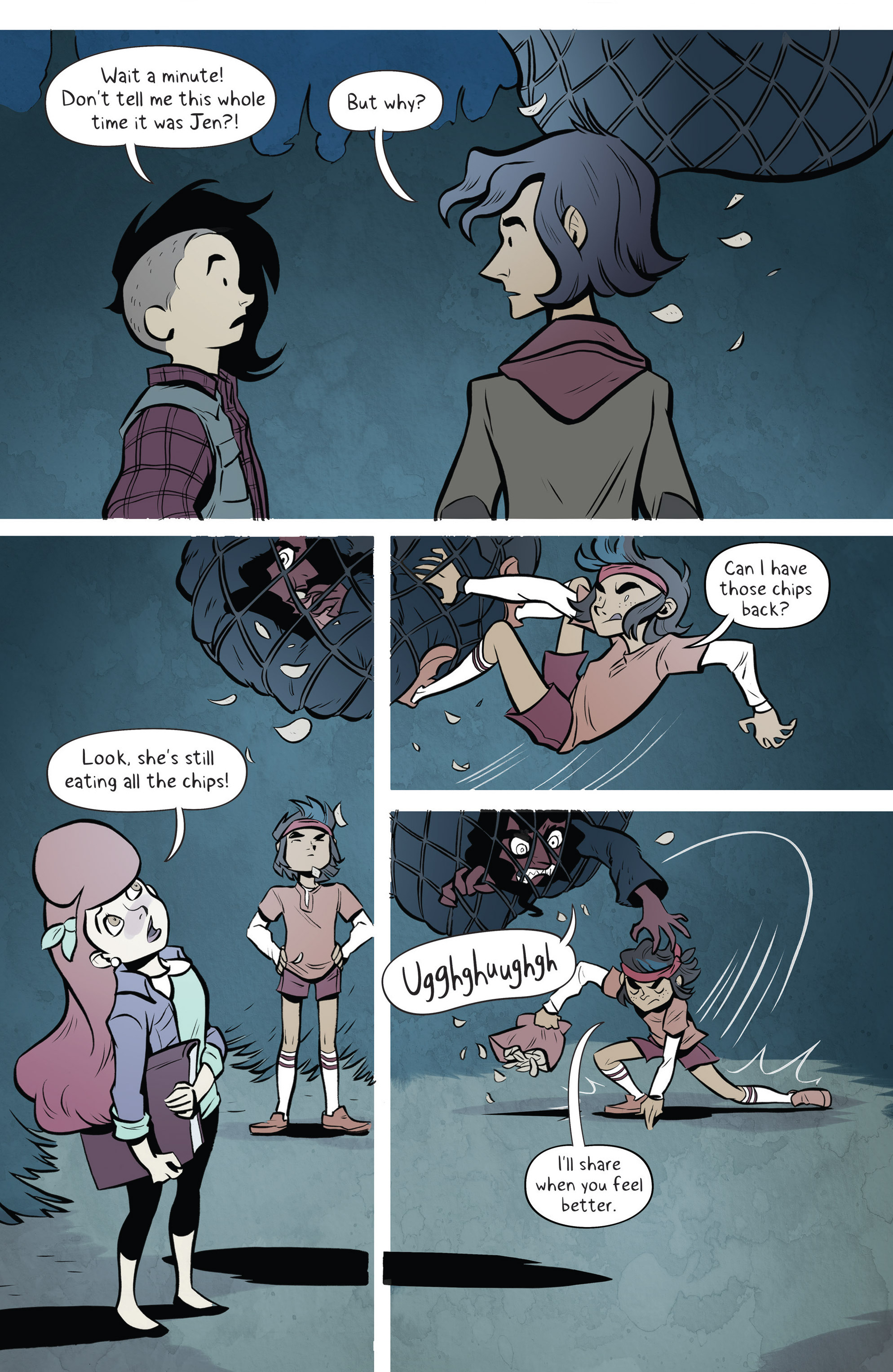 Read online Lumberjanes: Makin' the Ghost of It 2016 Special comic -  Issue # Full - 29