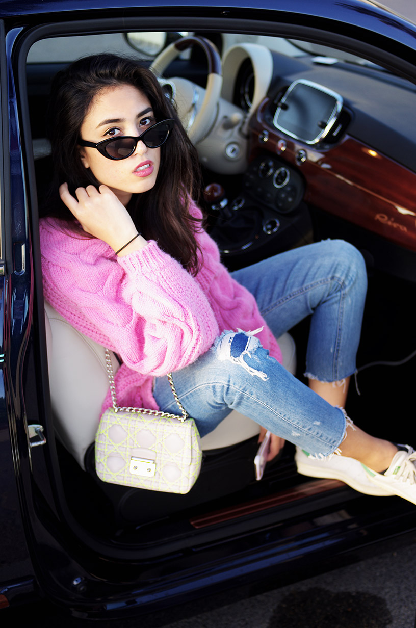 Elizabeth l pink mood outfit cannes blog mode l river island asos zara l THEDEETSONE l http://thedeetsone.blogspot.fr