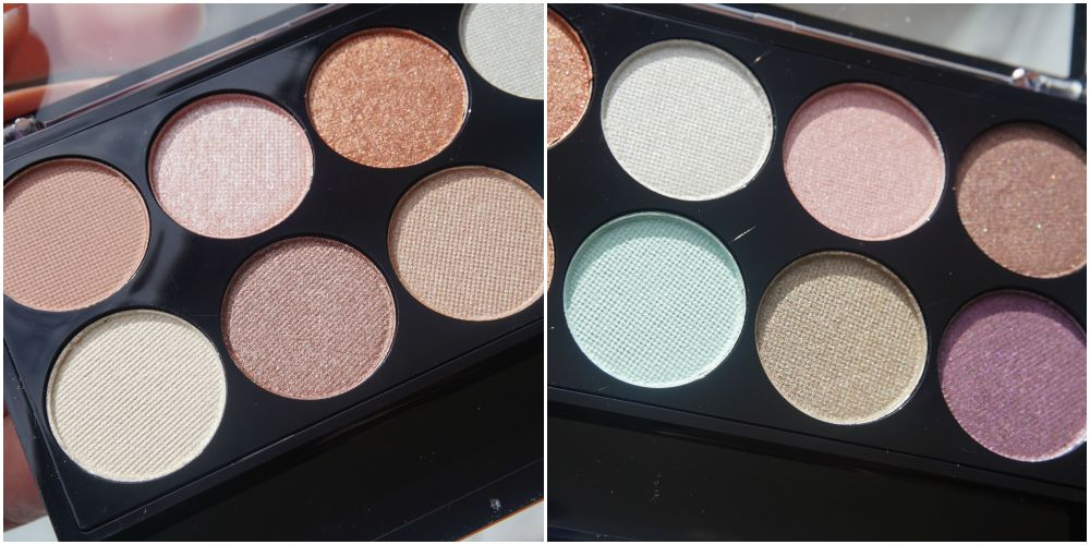 MUA SPRING BREAK EYESHADOW PALETTE SWATCHES AND REVIEW