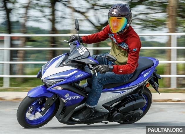 Yamaha nvx 155 malaysia