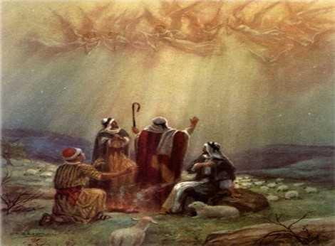 Pastores nacimiento de Jesús