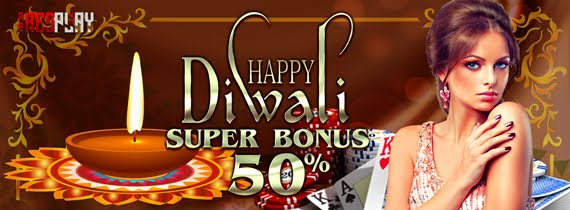 Redplay2u Happy Diwali Super Bonus