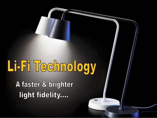 LiFi technology latest technology